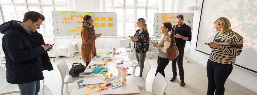 XDi Agile-Methoden-Seminar Participants